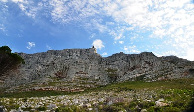 Table Mountain. Cape Town, South Africa. ...................(c) Photo by Barry Jucha