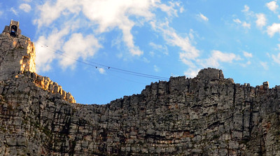 Table Mountain. Cape Town, South Africa. ……………….[ Copyright © - Photo by Barry Jucha ]