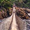 Suspension bridge in Tsitsikamma National Park