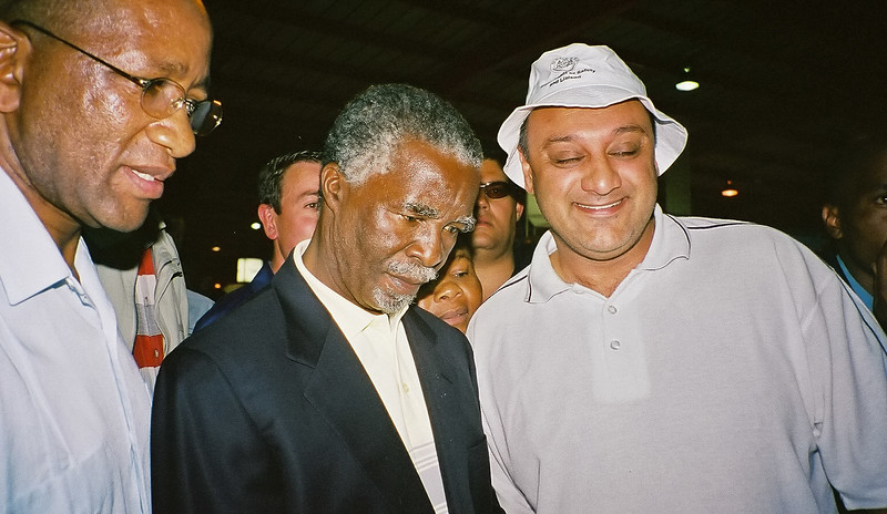 President of South Africa from June 14, 1999 to September 24, 2008.