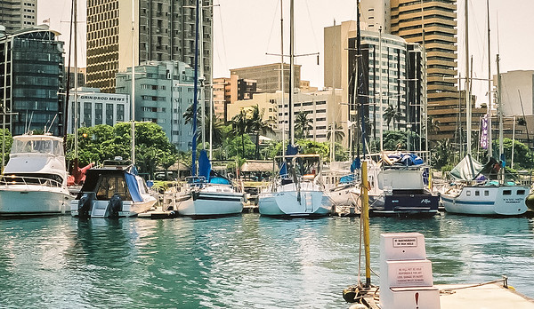 Harbor in Durban
