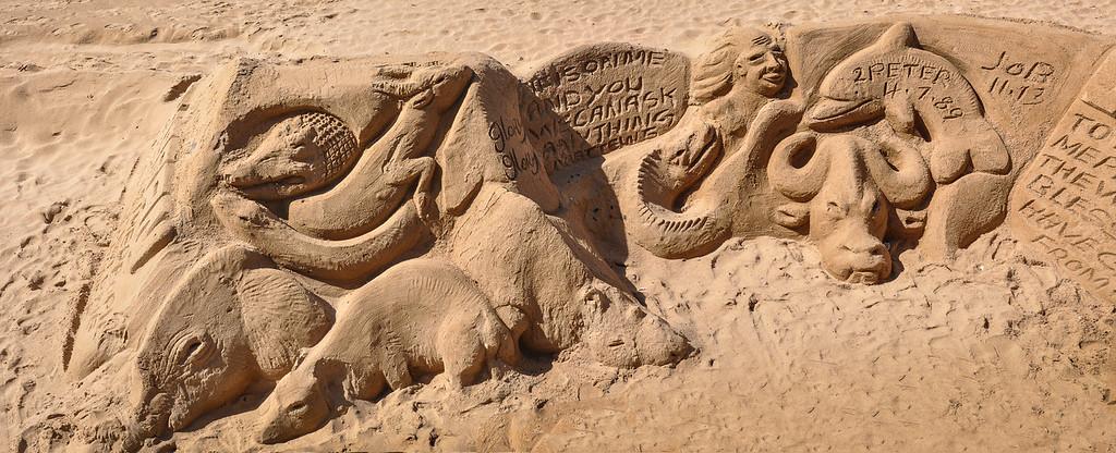Sand Sculptures on Umhlanga Beach
