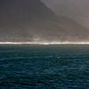 Morning light over the  South Atlantic Ocean from Hermanus