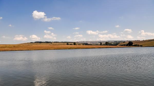 Lake behind Milly's