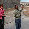 Our guide in Robben Island who has been prisoner by himself
