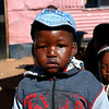 Young boy in a township in Soweto, South Africa.