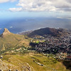 View of Cape Town, South Africa from Table Mountain