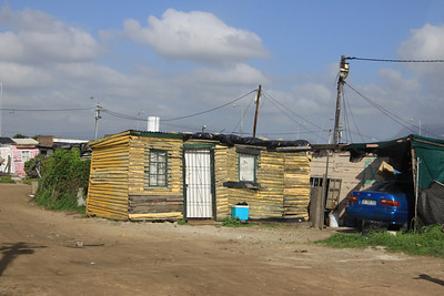 Visiting the townships around Cape Town