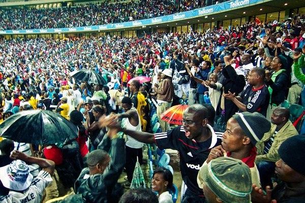 Football Fans, Durban, South Africa