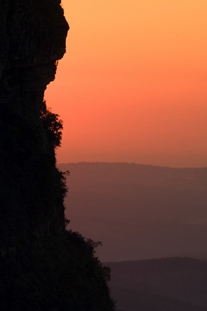 Sunrise at Graskop Gorge