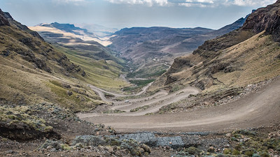 The Sani Pass ... South Africa