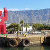 Table Mountain from the waterfront (Cape Town)