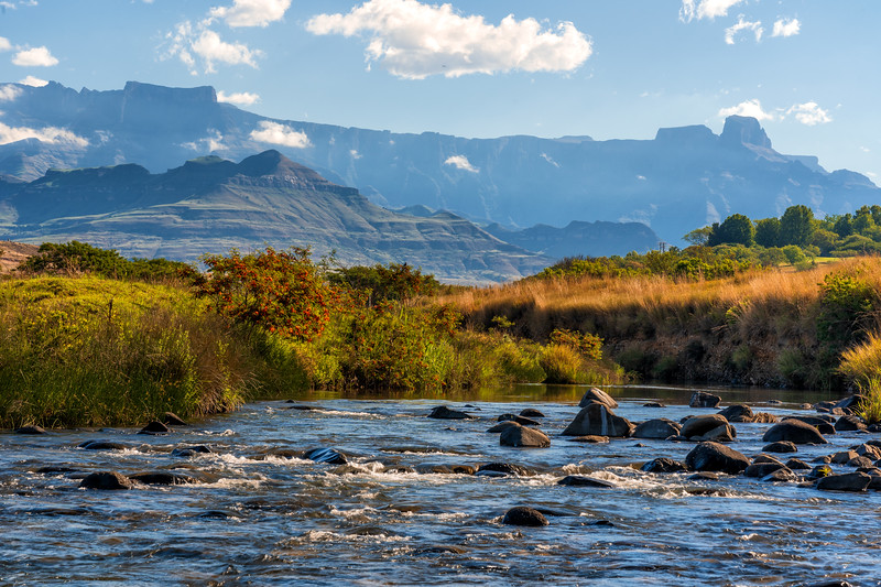 Tugela River and the Amphitheatre