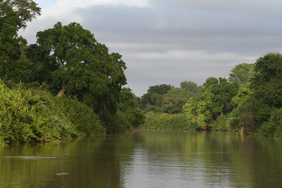 Crook's Corner: confluence of the Limpopo and Luvuvhu Rivers