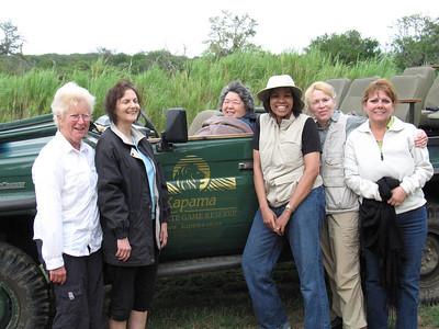 Ladies on safari!