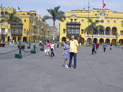 Main Plaza, with all the important government buildings