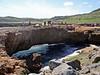Good Natural bridge formed by tidal action.