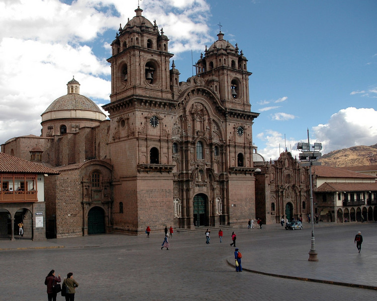 Cusco - 11,000 feet above sea level