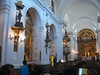 Interior of Nuestra Señora del Pilar church in the Recoleta neighborhood.