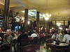 Café Tortoni in Buenos Aires, opened in 1858. A past hangout for people like Carlos Gardel and Jorge Luis Borges.