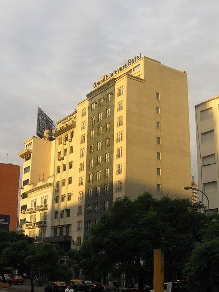 Our hotel, located on Av. 9 de Julio