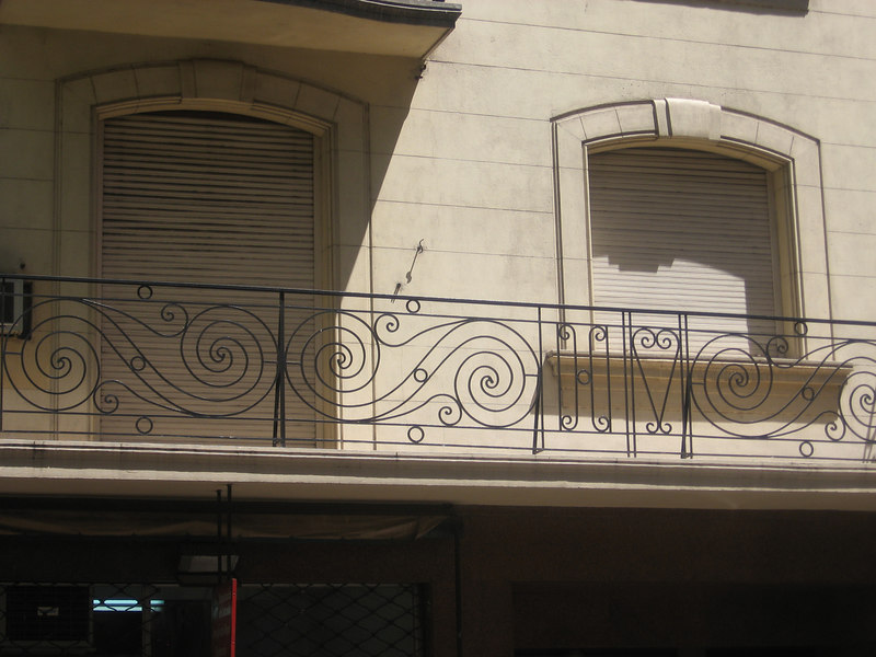 Nice iron work in Buenos Aires