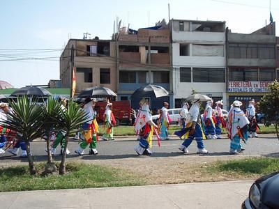 Impromptu parade
