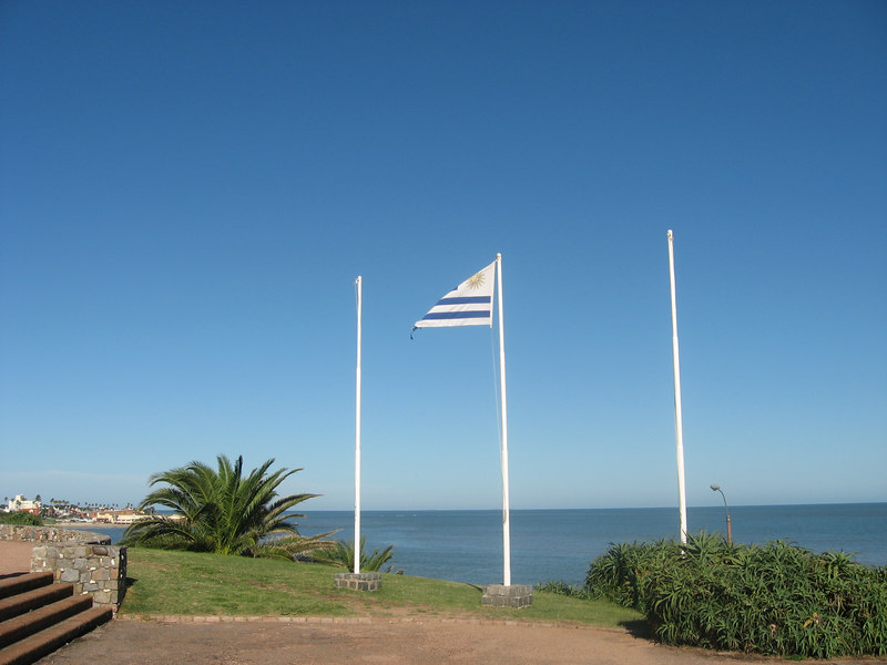 Uruguayan national flag.