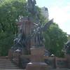 San Martin Statue at Plaza San Martin