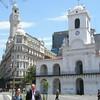 Cablido at Plaza de Mayo