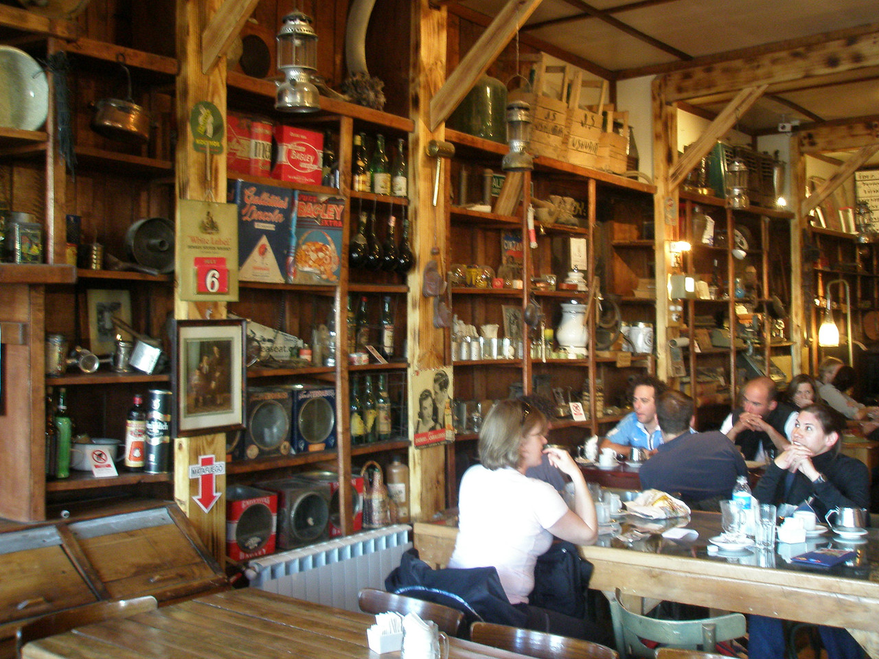 Very cool old general store/coffee shop/museum