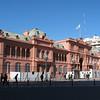 Casa Rosada--the Argentinian executive mansion