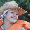 Gabriella, our tour guide on Paraguay River cruise.