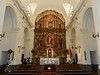 Plain walls but elaborate altars