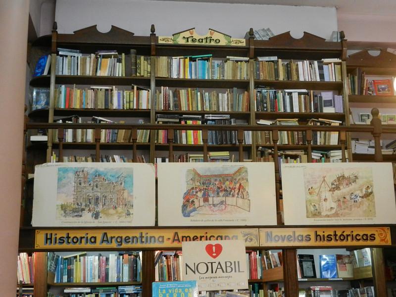 Bookstore in the San Telmo area