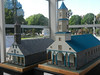 Castro's visitors' center had models of some of the island's other churches.