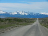 On the way to Torres del Paine