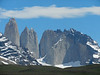 Torres del Paine means Towers of Blue, but there were many colors visible in sunshine.