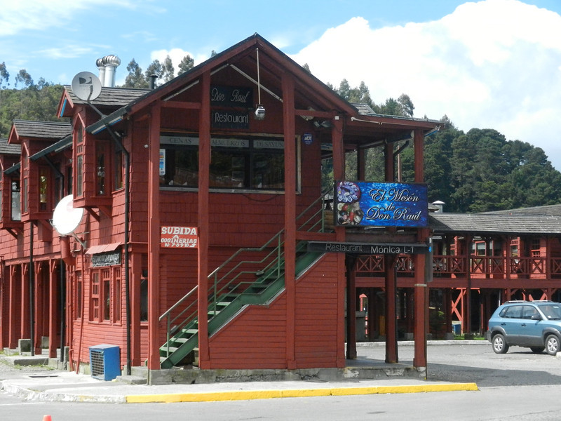 Puerto Montt market buildings. Very orderly place.