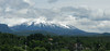 This was the best view I had of the volcano in Pucon.
