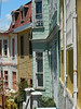 Valparaiso is known for its colorful houses