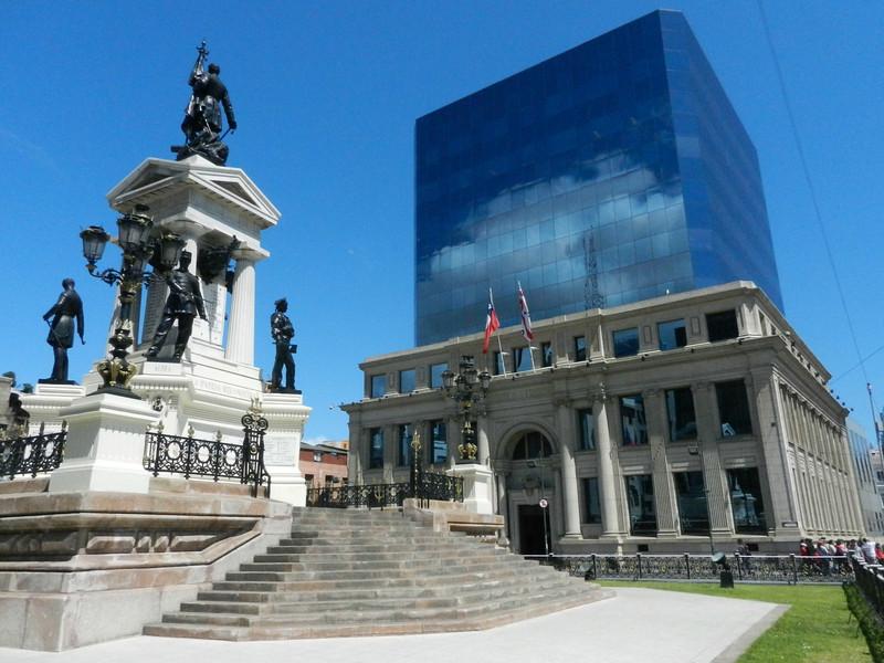Plaza Sotomayor, old and new