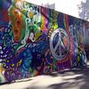 Example of street art .