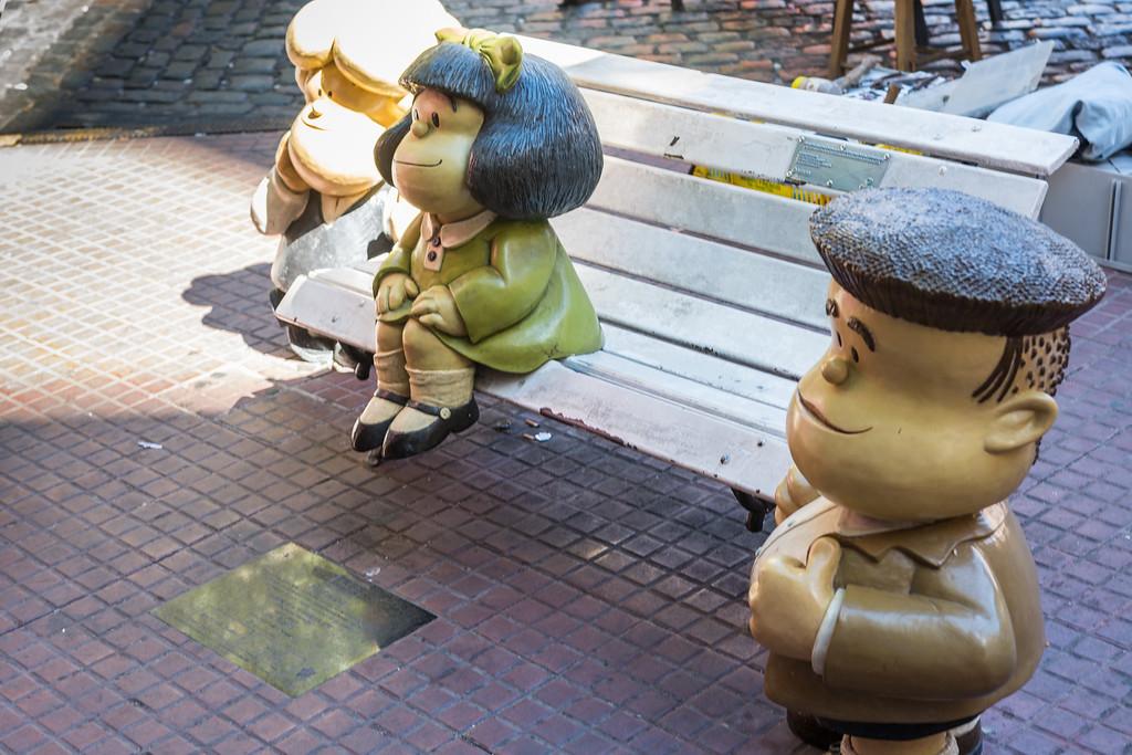 Mafalda & Friends, San Telmo