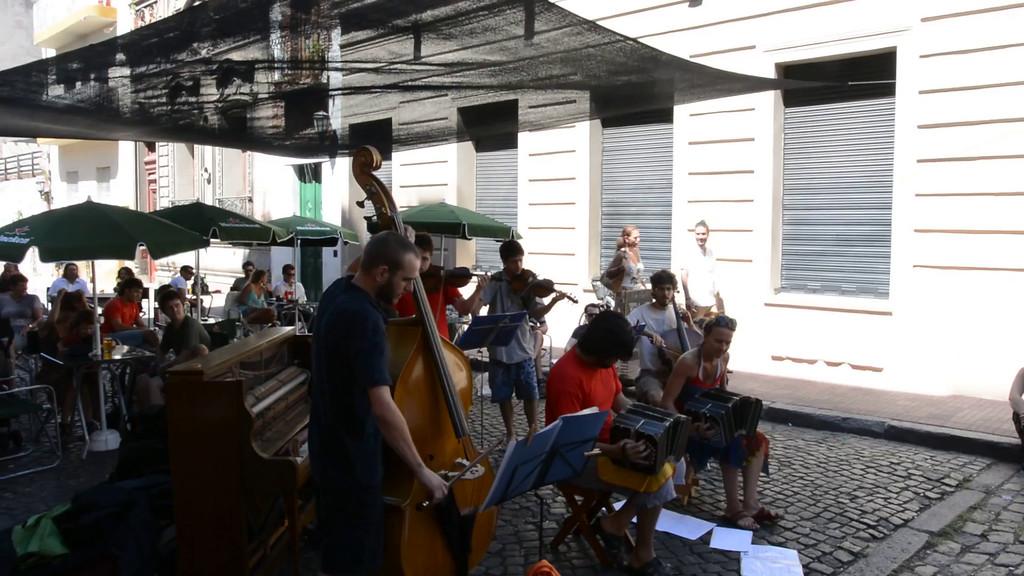 Band at Feria de San Pedro Telmo (Video)