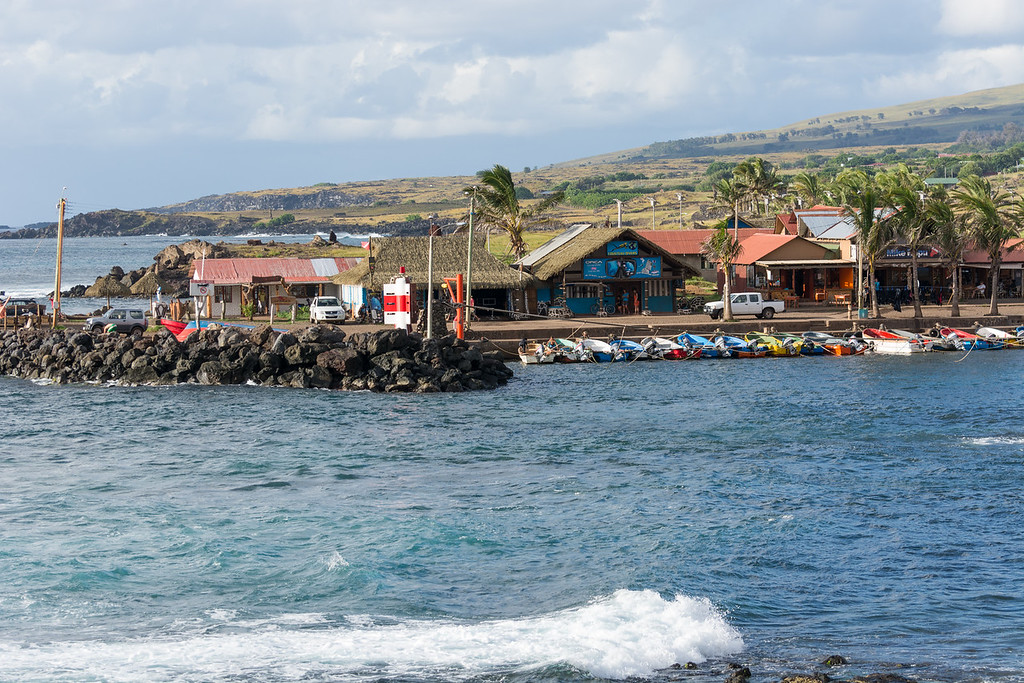 Easter Island Harbor