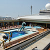 Jan. 2013, Buenos Aires -- Veendam Lido Pool on Lido Deck Center -- Facing Forward
