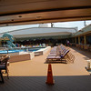 Jan. 2013, Buenos Aires -- Veendam Lido Pool on Lido Deck Center -- Facing Aft