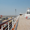 Jan. 2013 In Port in Buenos Aires, Veendam Sports Deck, Facing Forward