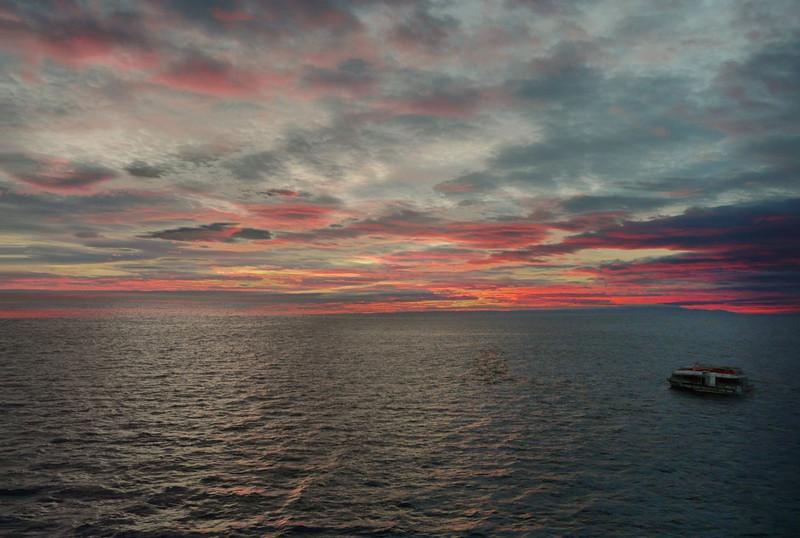 Magellan Strait. Chile